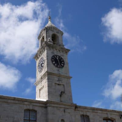 The Clocktower Mall at the Royal Naval Dockyard
