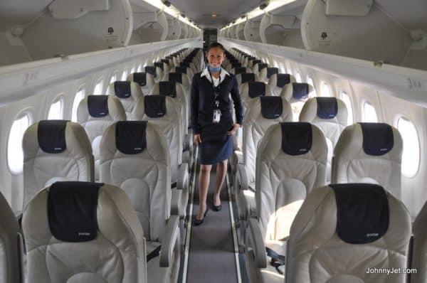 Porter Airlines flight attendant