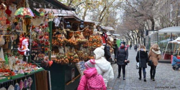 Bratislava Slovakia Christmas Market December 2013. Credit: Johnny Jet
