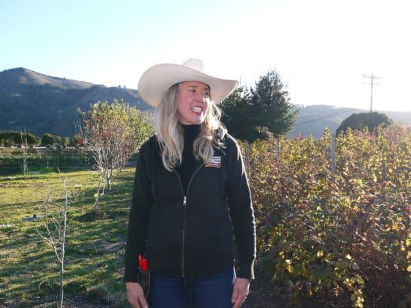 Janna Jo Williams at Earthbound Farm