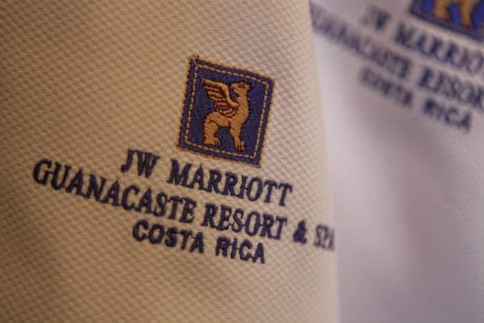 Linens at the JW Marriott Guanacaste Resort & Spa