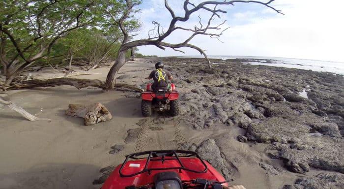 ATV riding in Guanacaste