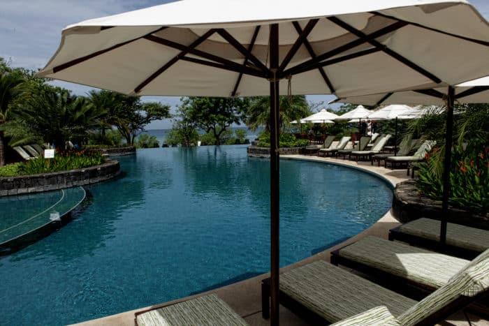 The pool at the Hacienda Pinilla Beach Club