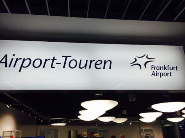 FRA airport tour