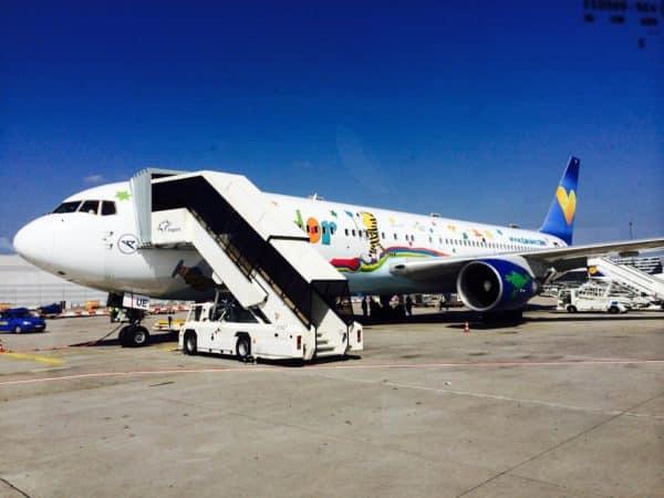 Condor ready to board