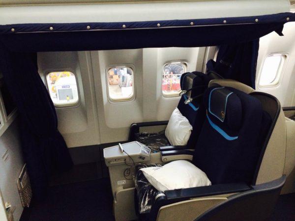 Pilot/crew rest seat