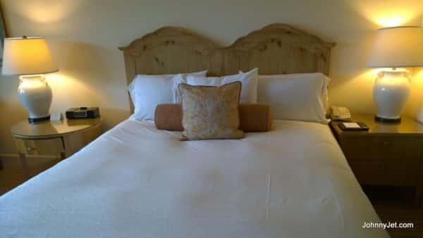 Guest room at Terranea Resort