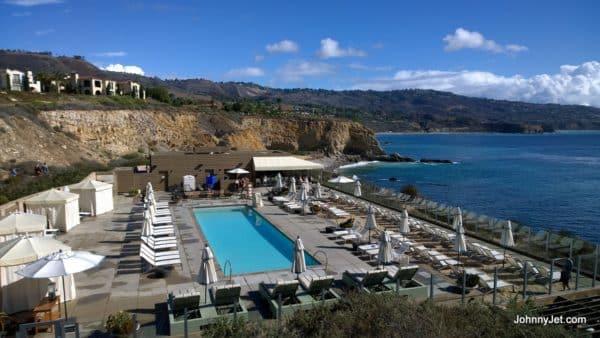 Adult pool at Terranea Resort