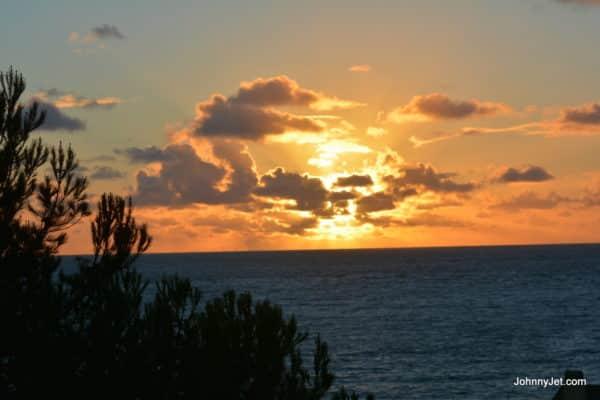 Sunset at Terranea Resort