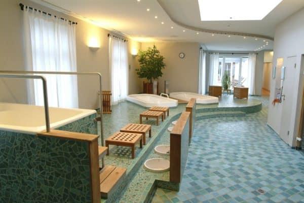 Hotel Deutscher Hof sauna area