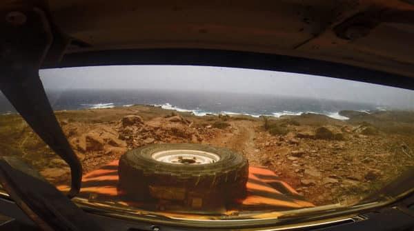 Off-roading in Aruba
