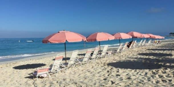 Early morning beach at Ocean Club Resort (East)