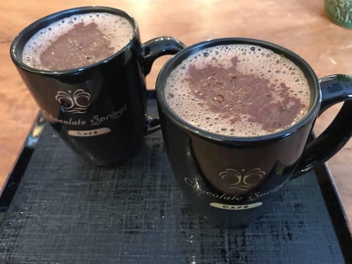The best hot chocolate (ChocolateSprings.com)