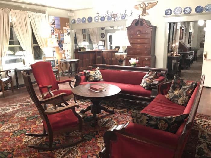 Historic Red Lion Inn's salon
