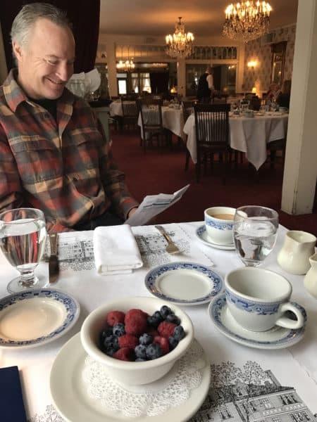 Red Lion Inn's breakfast