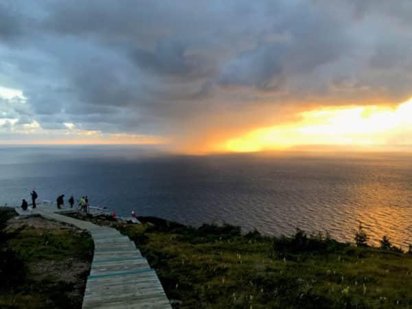 Skyline Trail at sunset