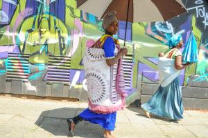 Life imitating art in Newtown, Johannesburg