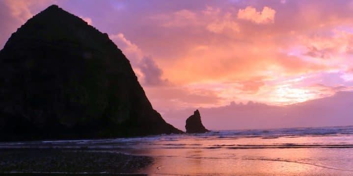 Driving the Oregon coast