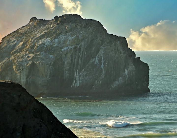 Face Rock near Bandon (Credit: Bill Rockwell)