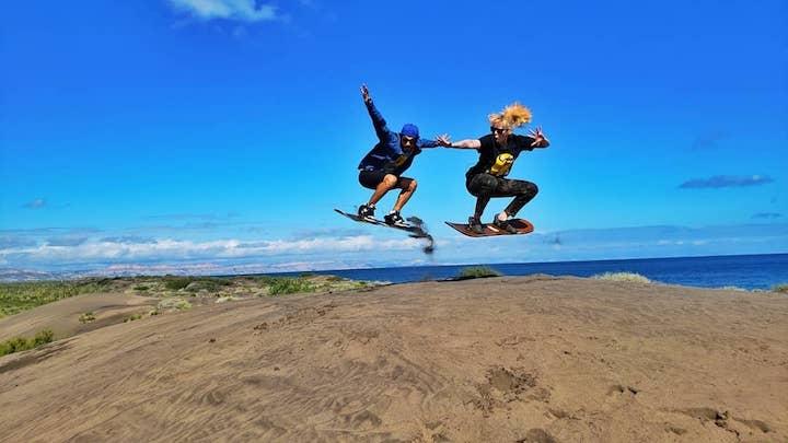 Sandboarding (Credit: Baja Desconocida)