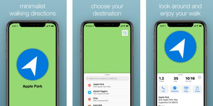 Mapless: a minimalist navigation app