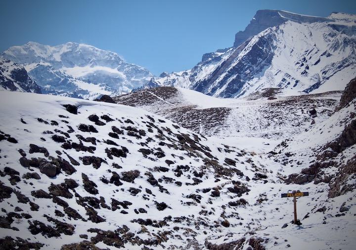 Aconcagua, South America's highest peak