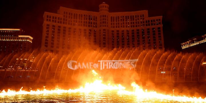 Game of Thrones Bellagio show