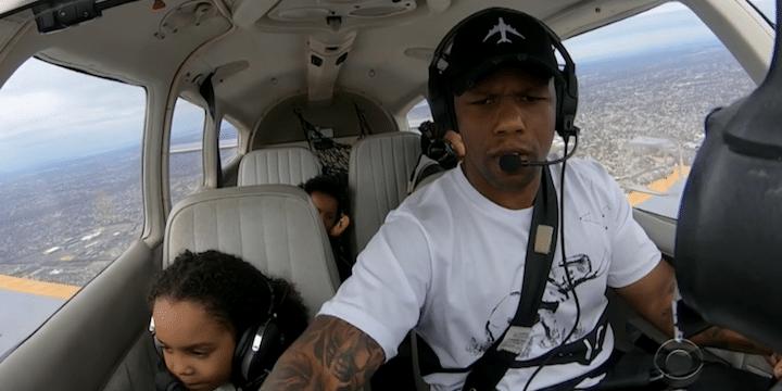 An inspiring pilot on CBS News