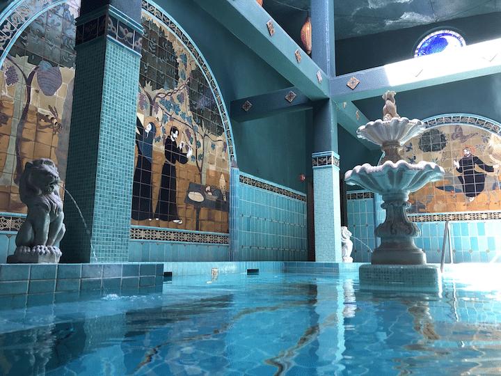 McMenamins soaking pool