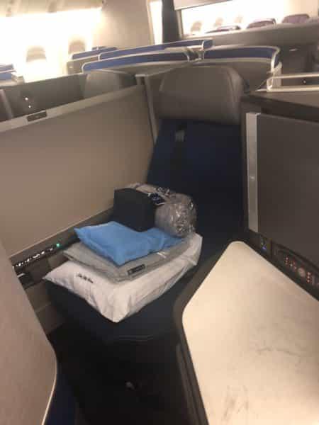 My seat (11D)