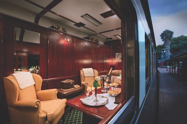 Inside a Rovos Rail train car (Credit: Rovos Rail)