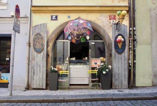 Angelato gelato shop