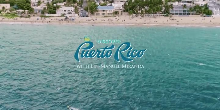 Lin-Manuel Miranda in Puerto Rico