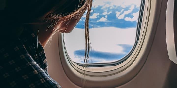 Combat Fear of Flying; Alaska Airlines Visa Signature Card