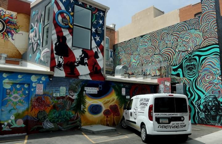 Freak Alley in Boise (Credit: Bill Rockwell)