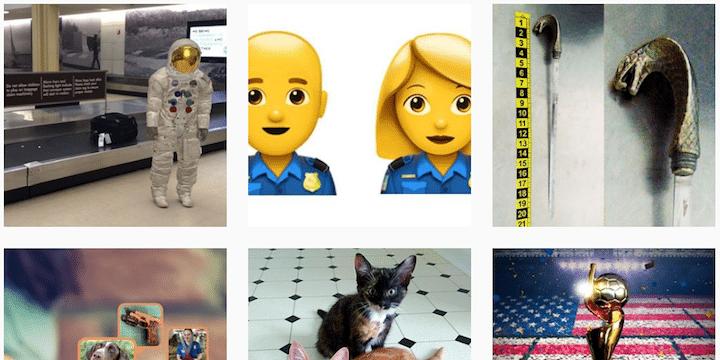 Follow the TSA on Instagram for travel help