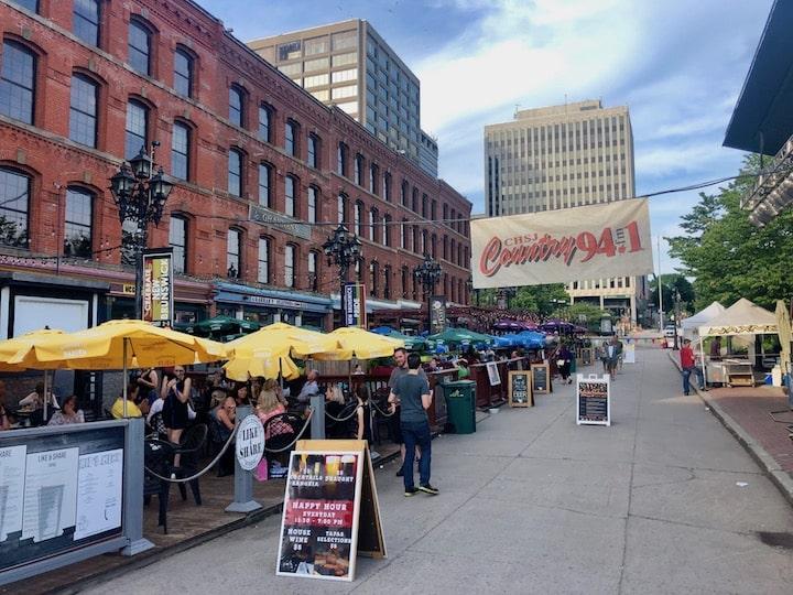 Market Square in St. John