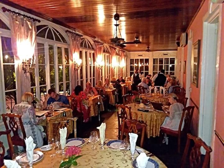 Graycliff Restaurant, the Caribbean's first five-star restaurant