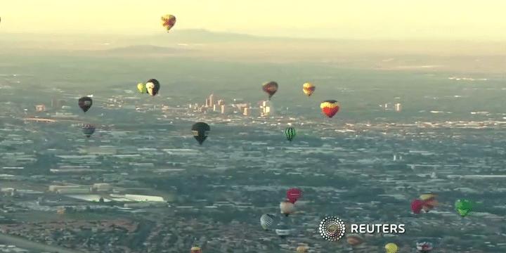 Albuquerque Balloon Fiesta, day 3