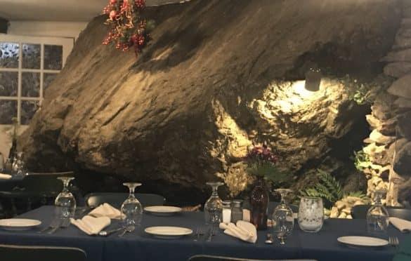 Rock dining at the Inn at Long Trail