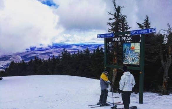 At Pico Mountain