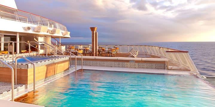Infinity pool (Credit: Viking Ocean Cruises)
