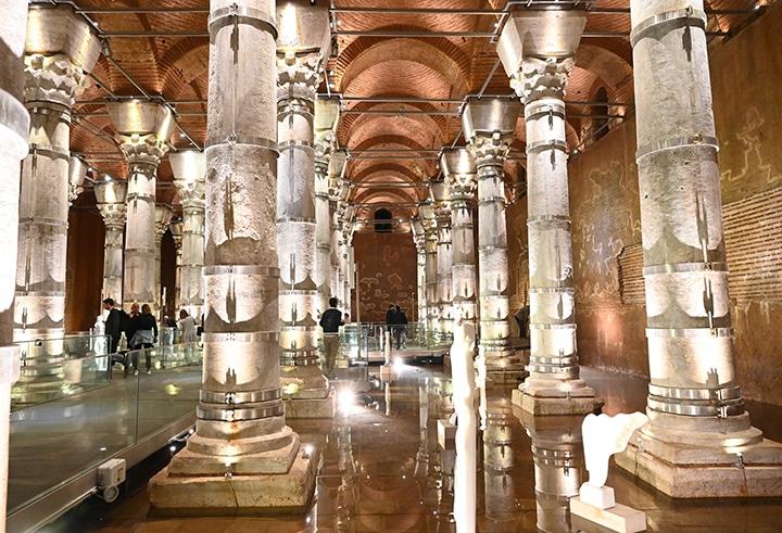 Newly opened Serefiye Cistern
