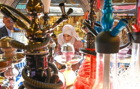Turkish crafts at Arasta Bazaar