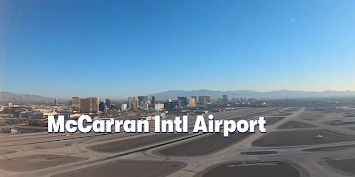 TPG Las Vegas airport timelapse
