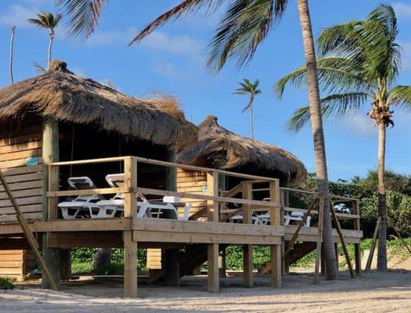 Cabanas at Paradise Beach