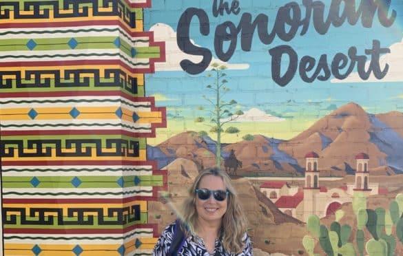 In the Sonoran Desert!
