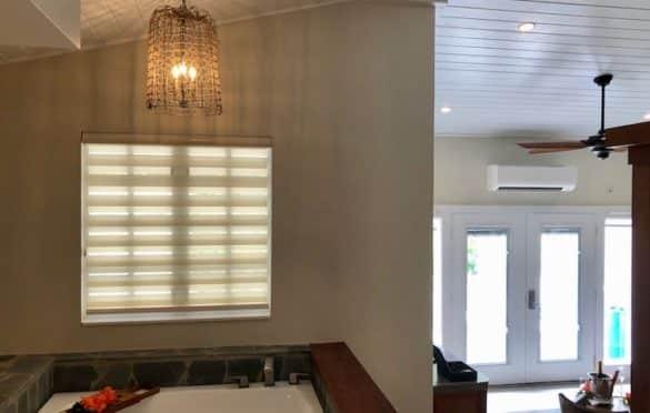 Inside villa 810