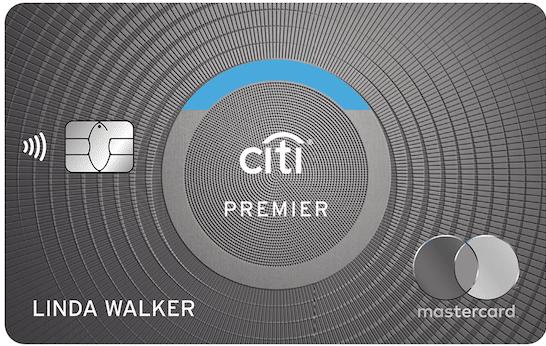 The new Citi Premier design. Credit: Citi
